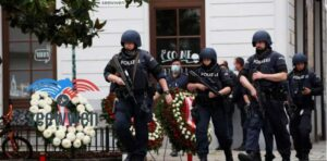 Shooting in Vienna Arrests After Four Released Jihadist Killed
